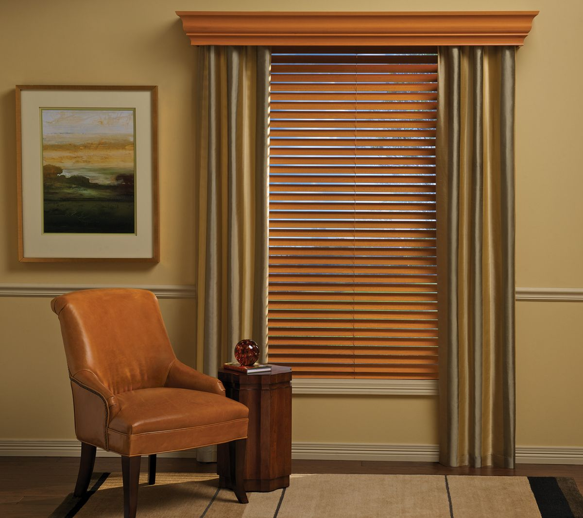 wood cornice for vertical blinds
