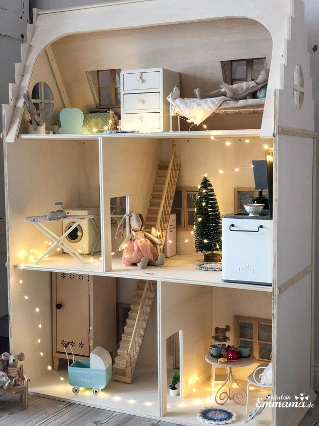 Photo of DIY: Build a Victorian-style doll house for Maileg yourself