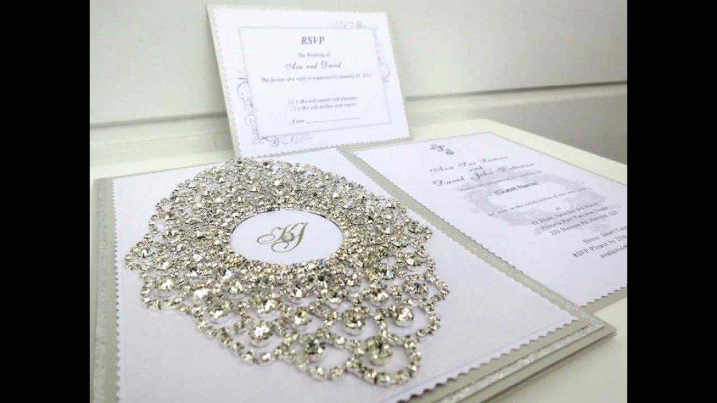 Wedding Invitation Card Handmade: 30 DIY Handmade Wedding Invitation Designs