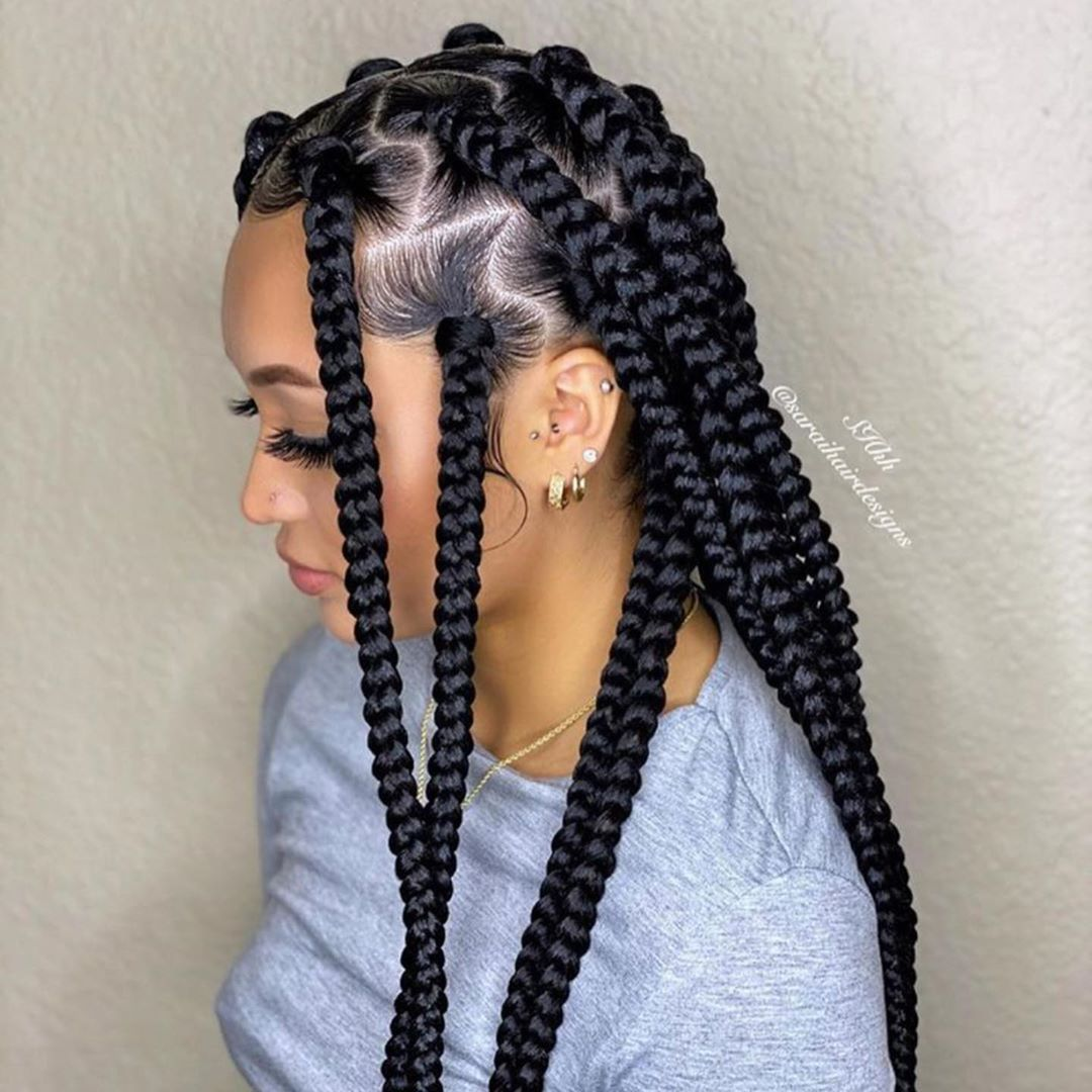 Classic Ways To Rock Braids Vincis Zone In 2020 African Braids Hairstyles Braided Hairstyles Braids Hairstyles Pictures