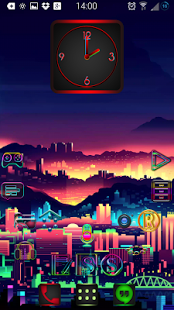 Super Neon icons pack APK for Blackberry | Download Android APK