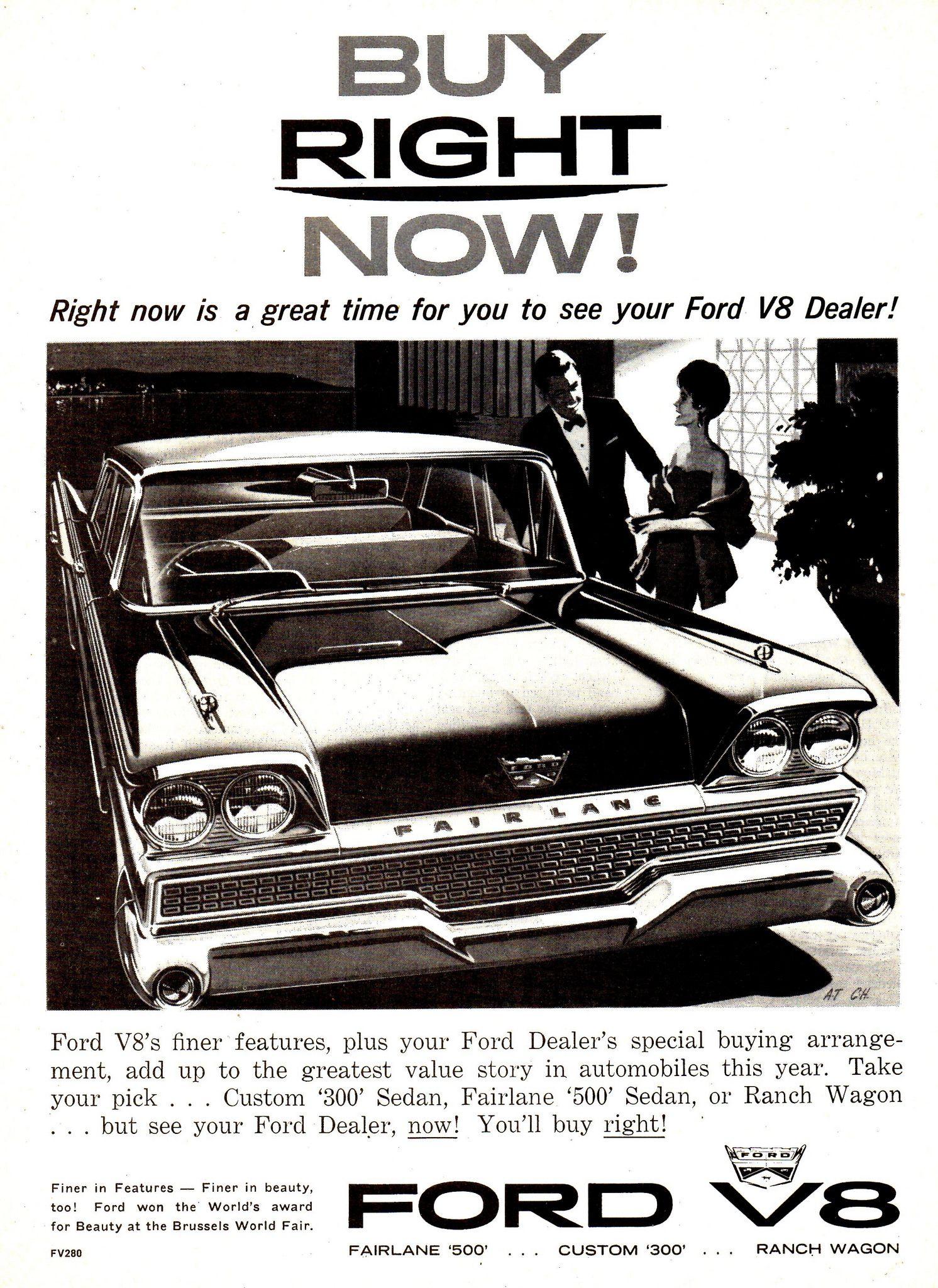 1959 Ford Fairlane 500 Aussie Original Magazine