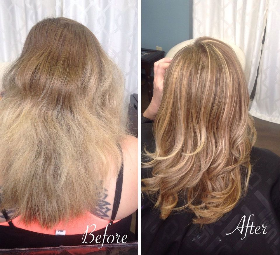Olaplex 3 Before After Permed Hairstyles Fine Hair Tips Hair Styles