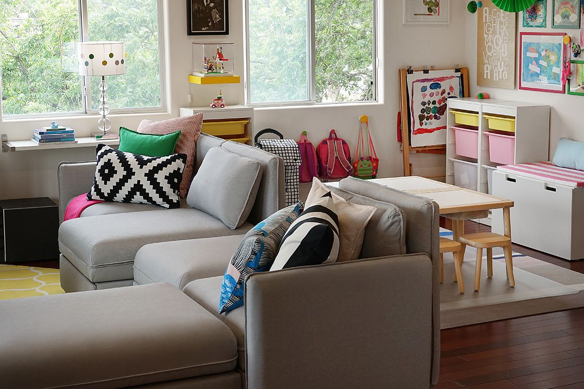 IKEA Home Tour Series  Kid friendly living room, Kid friendly