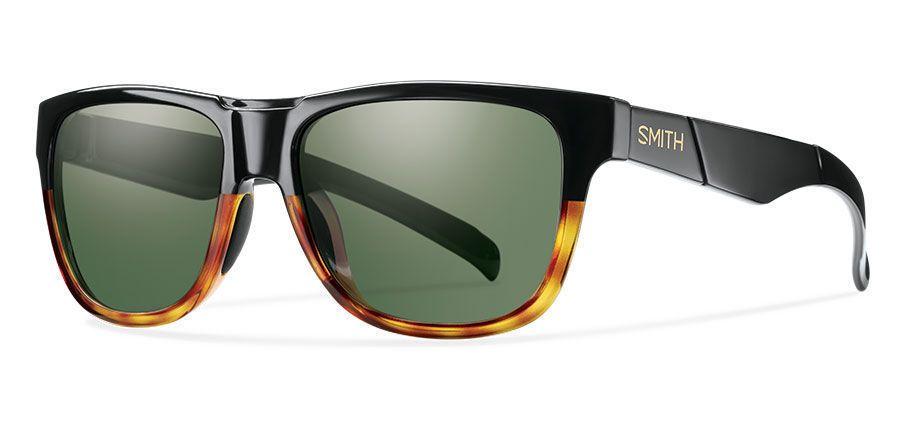 Smith Lowdown Slim Sunglasses Black Fade Tortoise w/ Gray Green Carbonic Lens #Smith #Oval