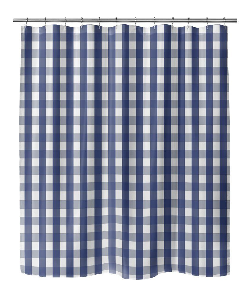 Gingham Shower Curtain By Kavka Designs Kavka Designs Shower