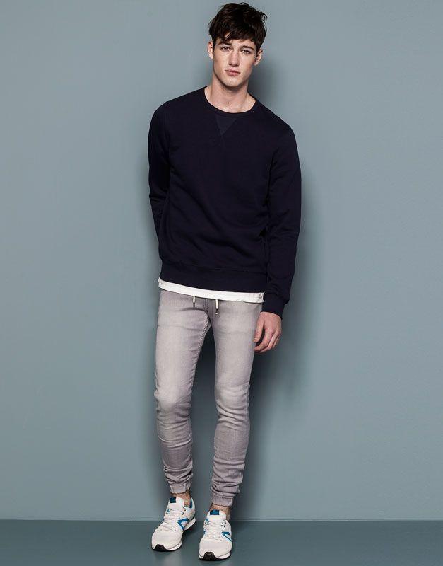 Jeans Hombre Pull Bear Spain Espana Skinny Jeans Men Mens Denim Mens Jeans