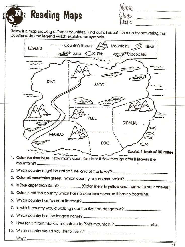 Social Studies Skills – Second Grade Social Studies Worksheets