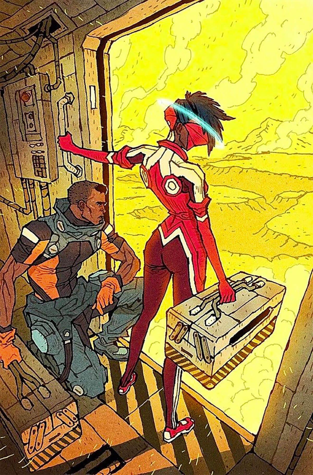 list of comic book characters