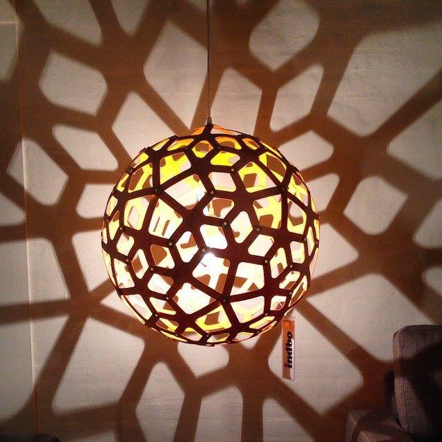 CORAL Shadow Play, #lighting By David Trubridge