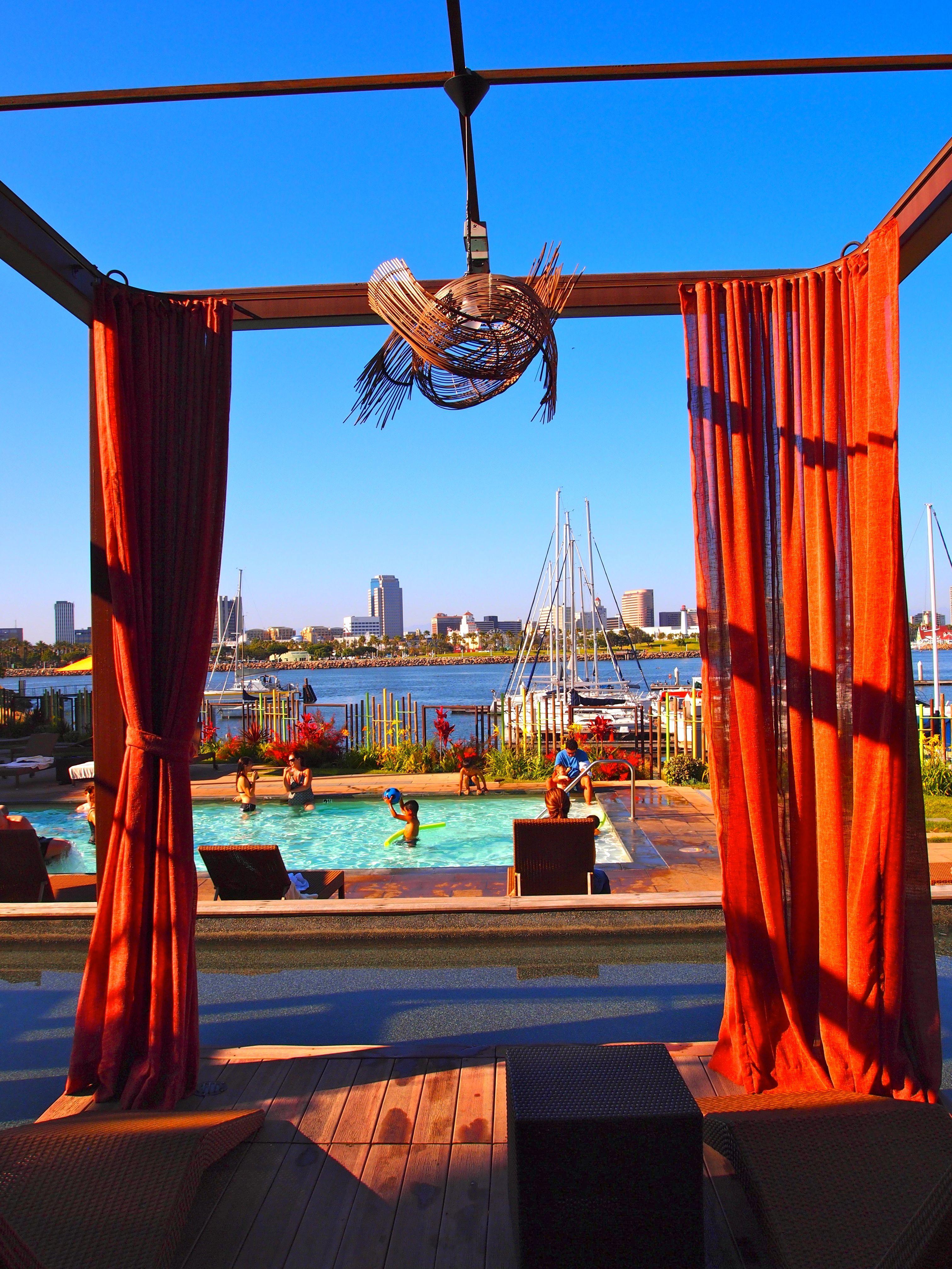 Long Beach And Maya Hotel Magic Time In California