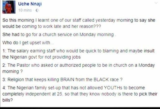 [News] Any Pastor That Holds Service On Monday Morning Should Be Flogged  OAP Freeze