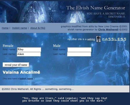 Name Generator: Best 25+ Elven Name Generator Ideas On Pinterest