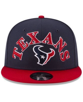 b616a8170370a New Era Houston Texans Retro Logo 9FIFTY Snapback Cap - Navy Red Adjustable