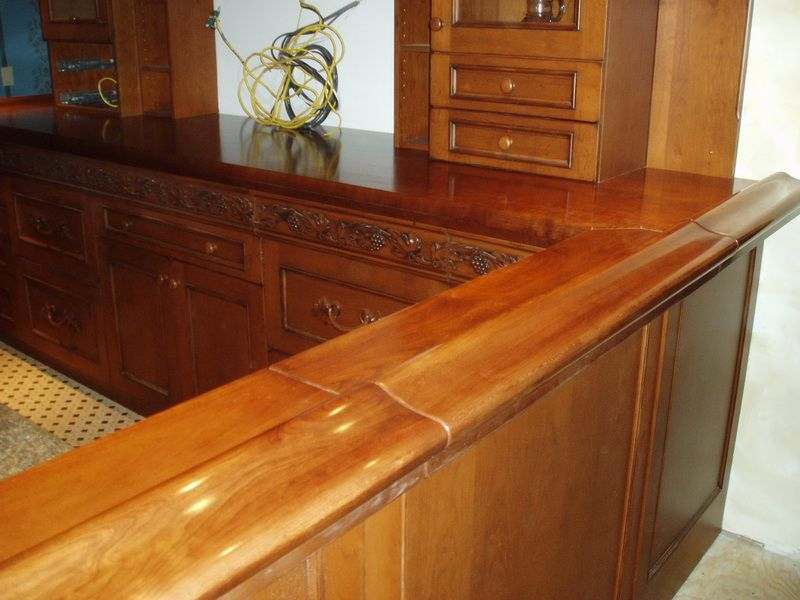 Premium Wide Plank Wood Bar Tops By Brooks Custom. Custom Bar Tops For  Commercial Or Residential Projects, Sealed With Our Signature Marine Finish.