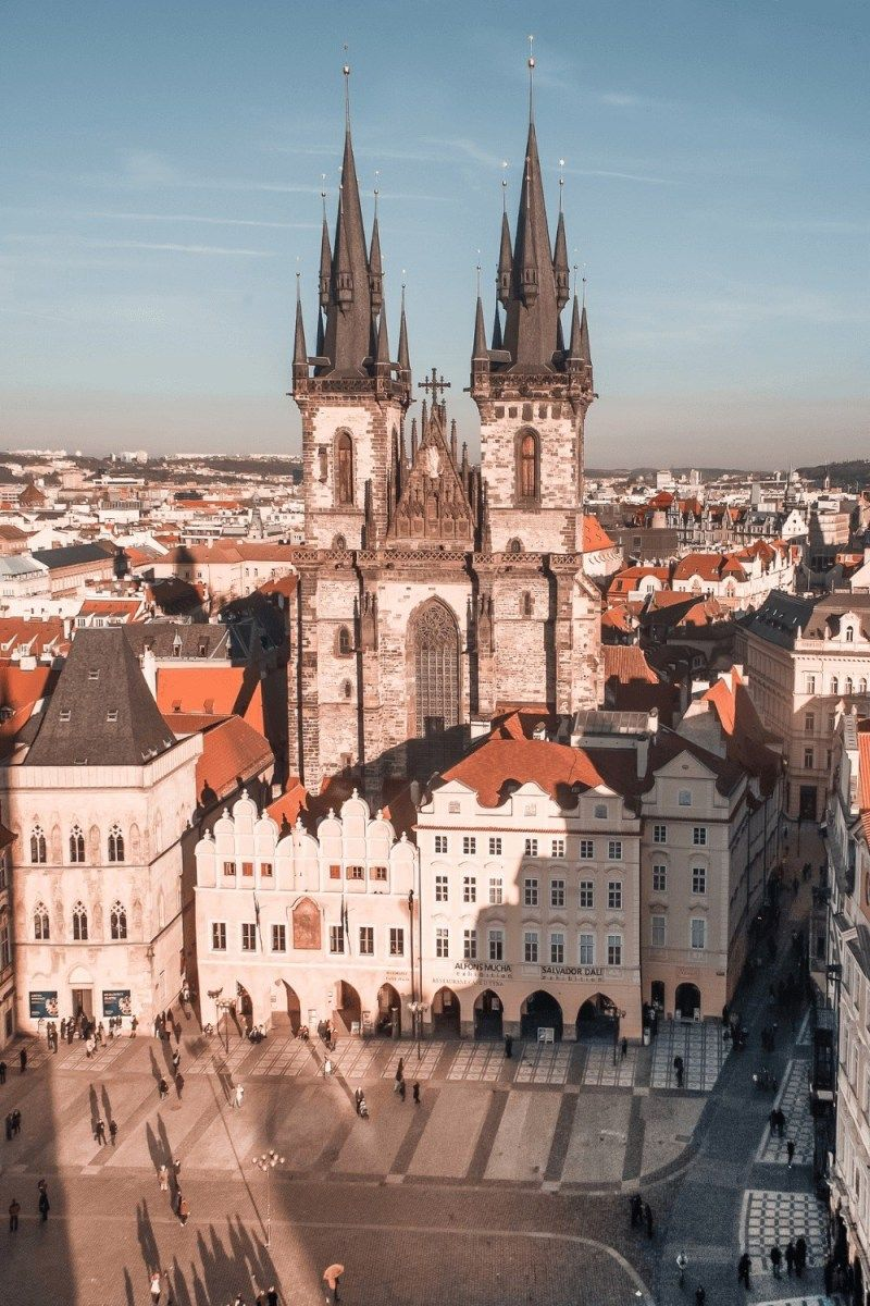 Best Rooftop Views In Prague The Travelling Frenchy Prague Prague Travel Best Rooftop Bars
