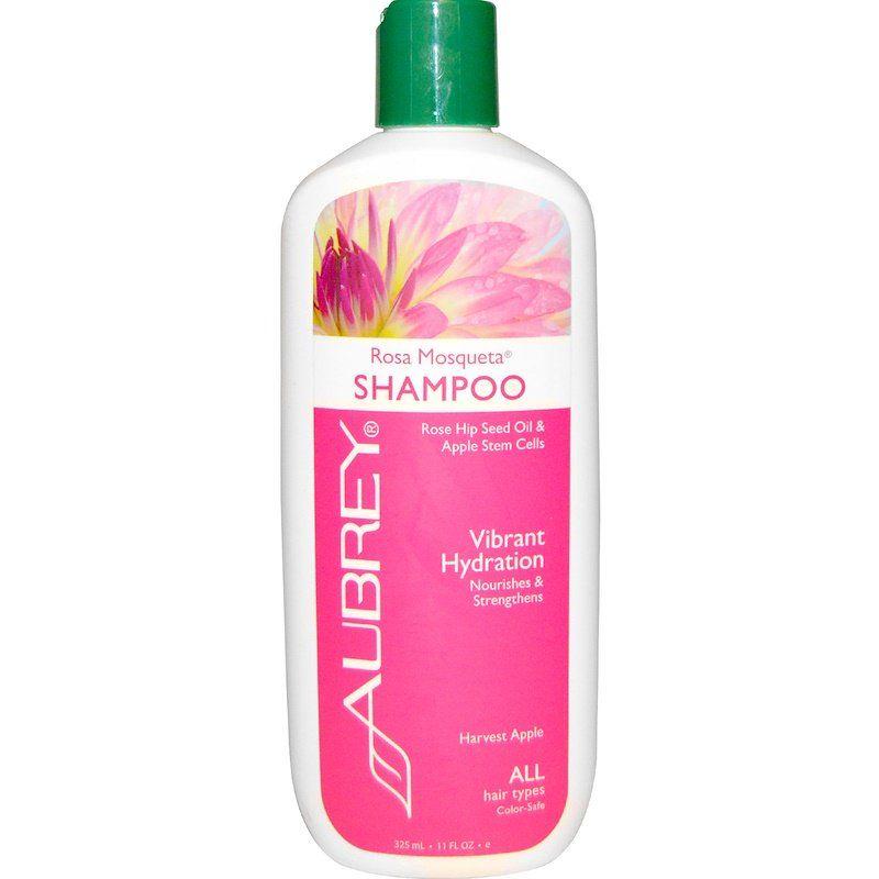 Aubrey Organics شامبو روزا موسكيتا ترطيب منعش لجميع أنواع الشعر 11 أونصة سائلة 325 مل Repair Shampoo Shampoo Aubrey Organics