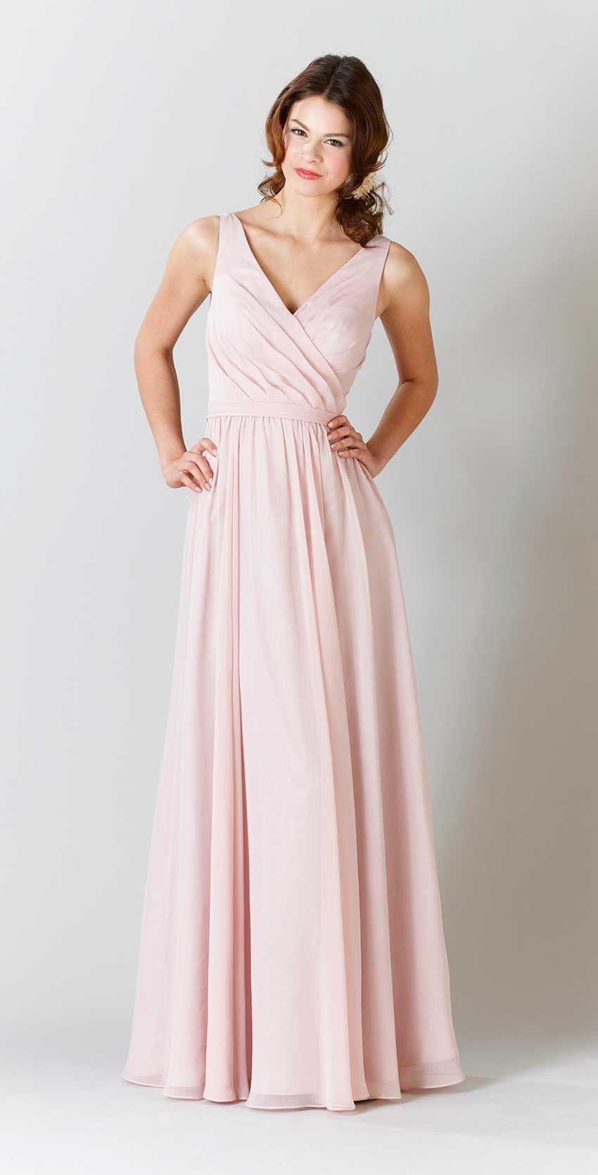 Anna chiffon bridesmaid dresses bridal parties and wedding stuff anna slate blue bridesmaid dressesblush ombrellifo Images