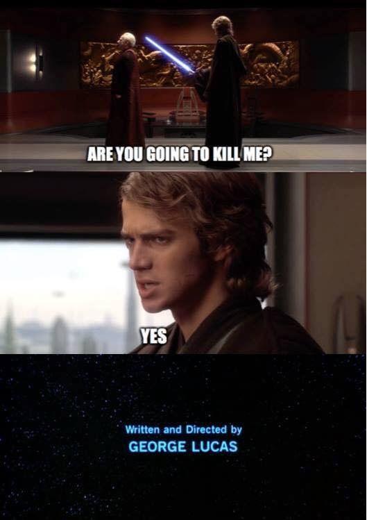 Star Wars Memes Star Wars Memes Star Wars Humor Star Wars Anakin