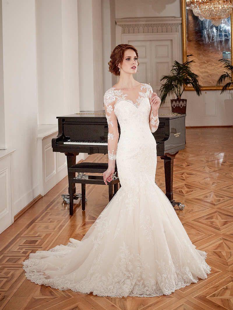 Moderne Brautkleider von Diane Legrand: Mermaid, Spitze, kleine ...