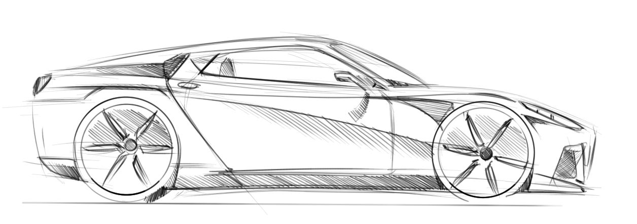 نتيجة بحث الصور عن car sketch   car sketch   Pinterest