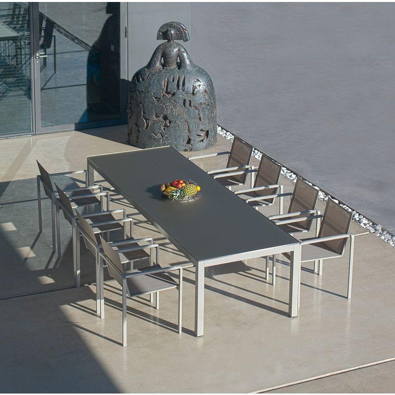 Royal Botania Esstisch Taboela Esstisch Mit Glasplatte