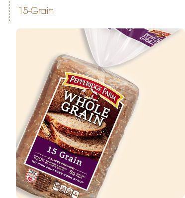 Phase 2 Pepperidge Farm Whole Grain Breads Honey Oat Bread Multi Grain Bread Honey Oats