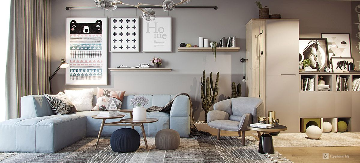 3 Small But Super Stylish Apartments | Small apartment ...