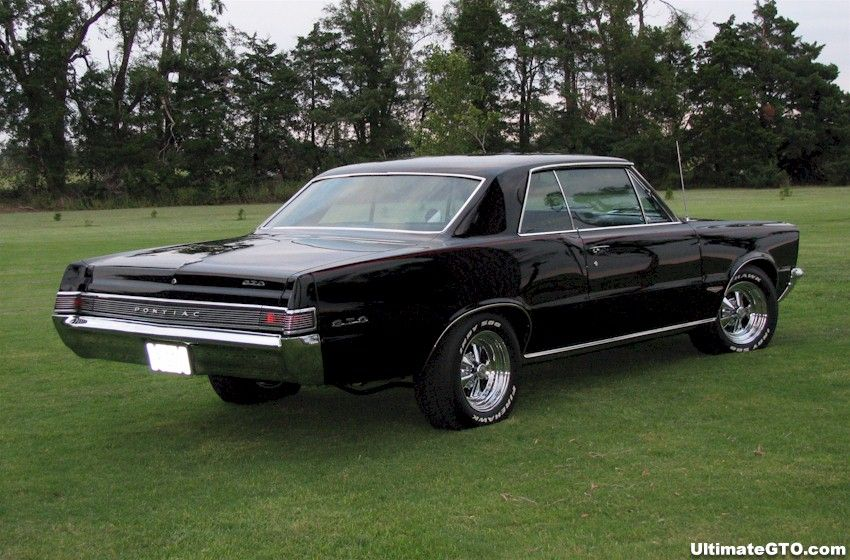 Starlight Black 1965 Gto Hardtop Ultimategto Com Pontiac Gto Classic Cars Muscle 1965 Gto