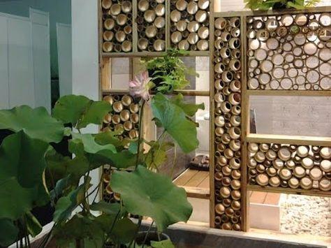 uniknya kerajinan bambu ukir pemanis lampu kreasi pemuda