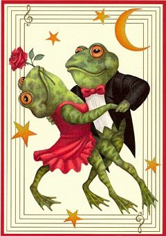 Image result for frogs dance moon