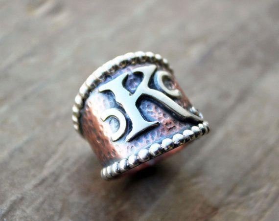 Custom Brand Ring Cattle Ranch Monogram Livestock Jewelry