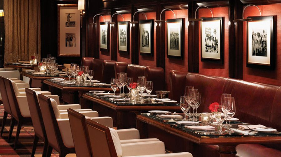 spectacullar and elegant restaurant interior and exterior