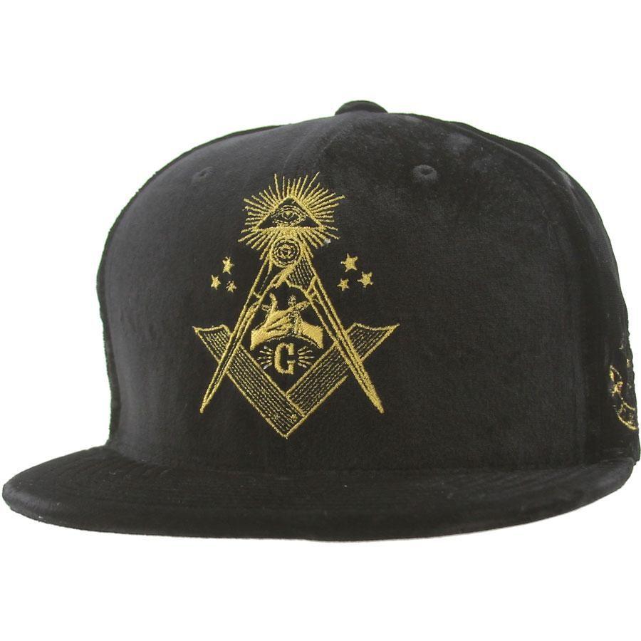 Gold Recognize Starter Snapback Cap (black velvet) GH83BLK -  35.99 ... ee258760c87