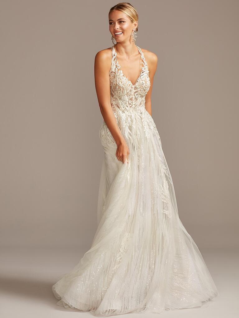 See David S Bridal Wedding Dresses From Bridal Fashion Week Wedding Dress Necklines Davids Bridal Wedding Dresses Strapless Lace Wedding Dress [ 1024 x 768 Pixel ]