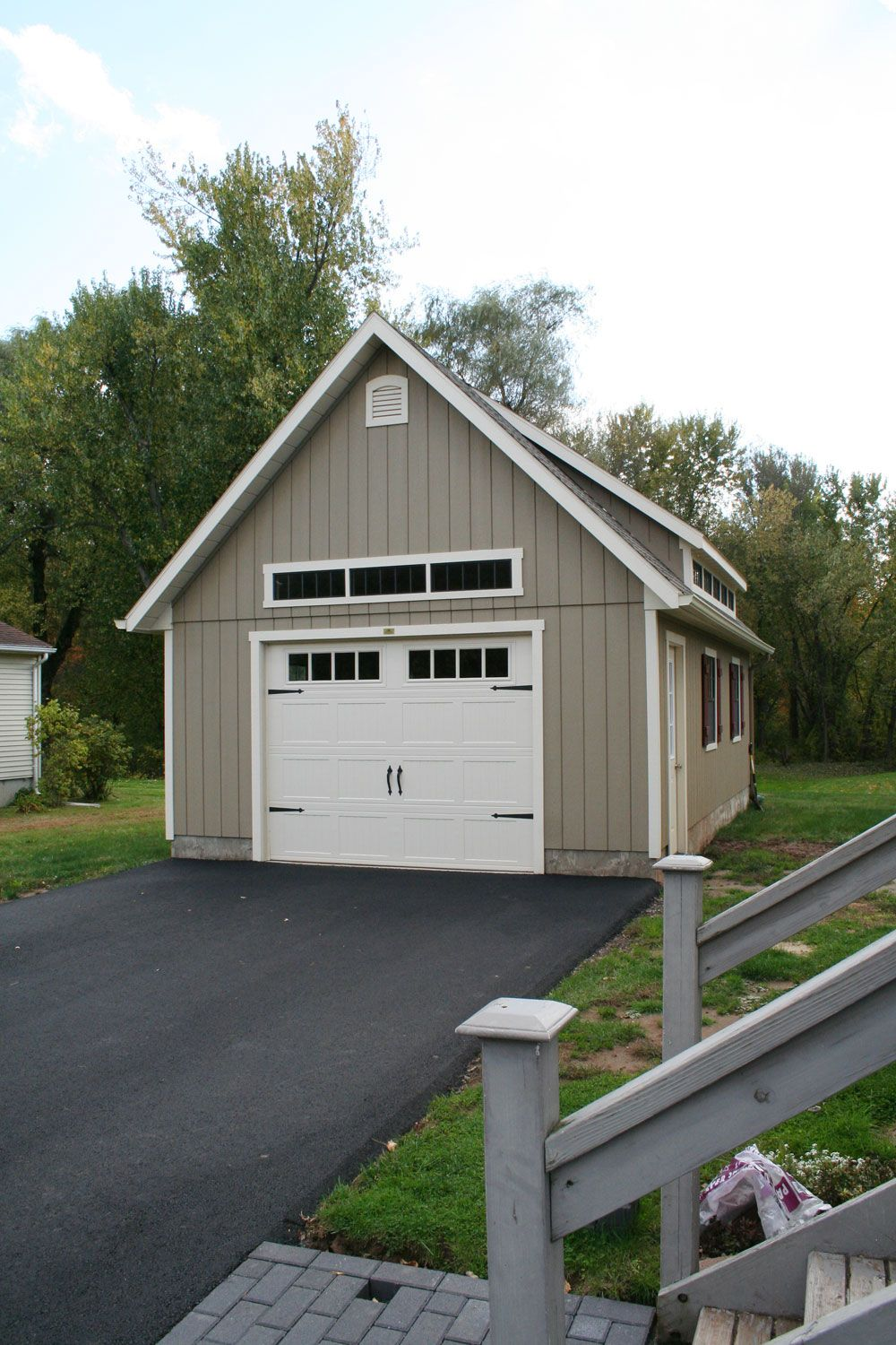 This Elite Garage Features A Mini Shed Dormer Look At How