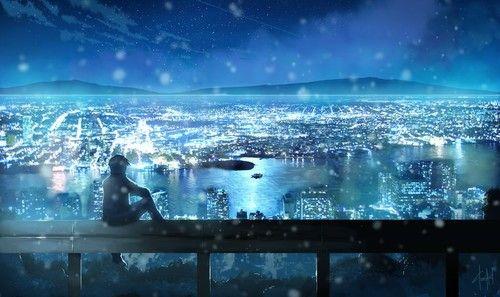 Backgrounds For Anime Landscape Wallpaper Night Anime Anime Scenery Landscape Wallpaper Wallpaper Backgrounds