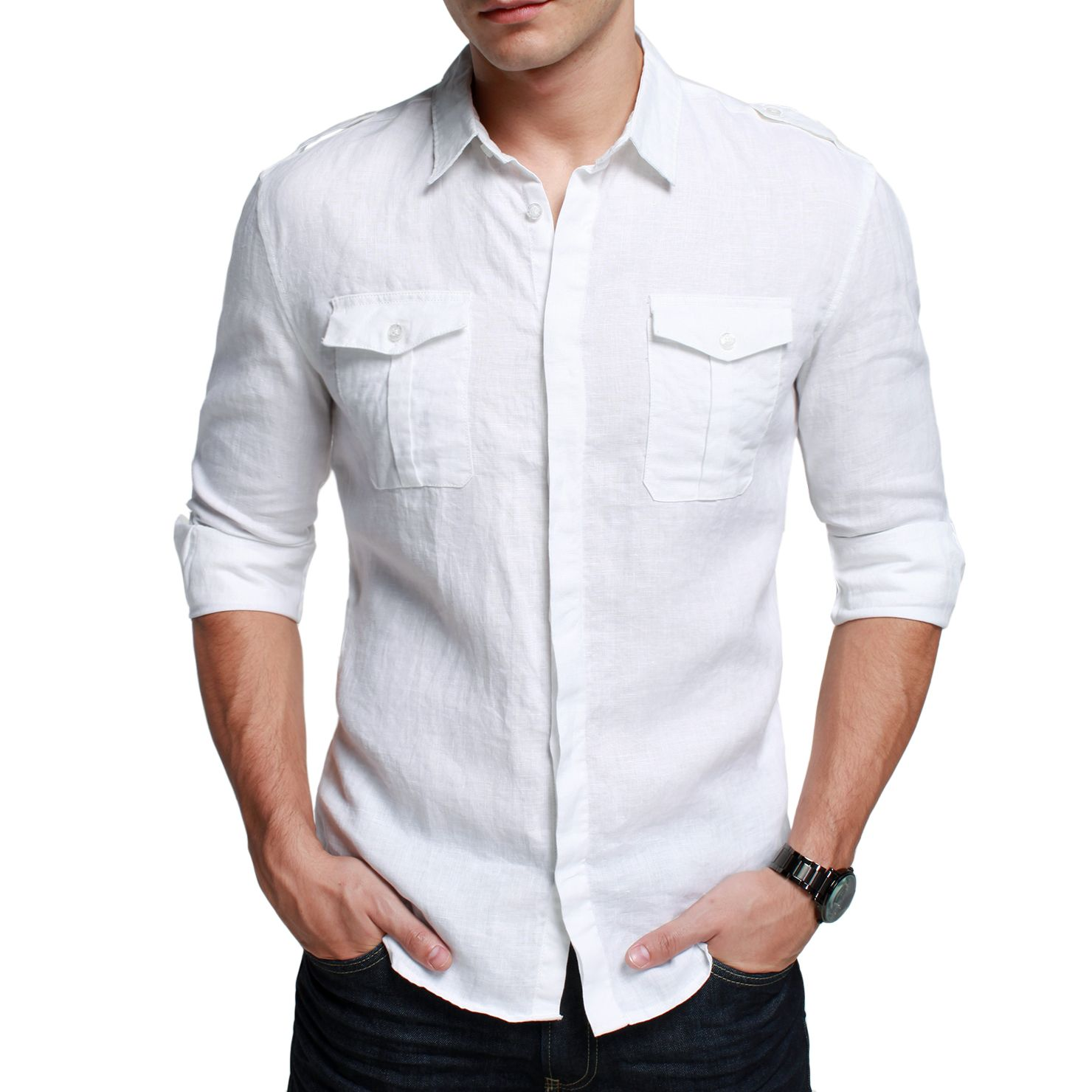 White Shirt For Mens Artee Shirt