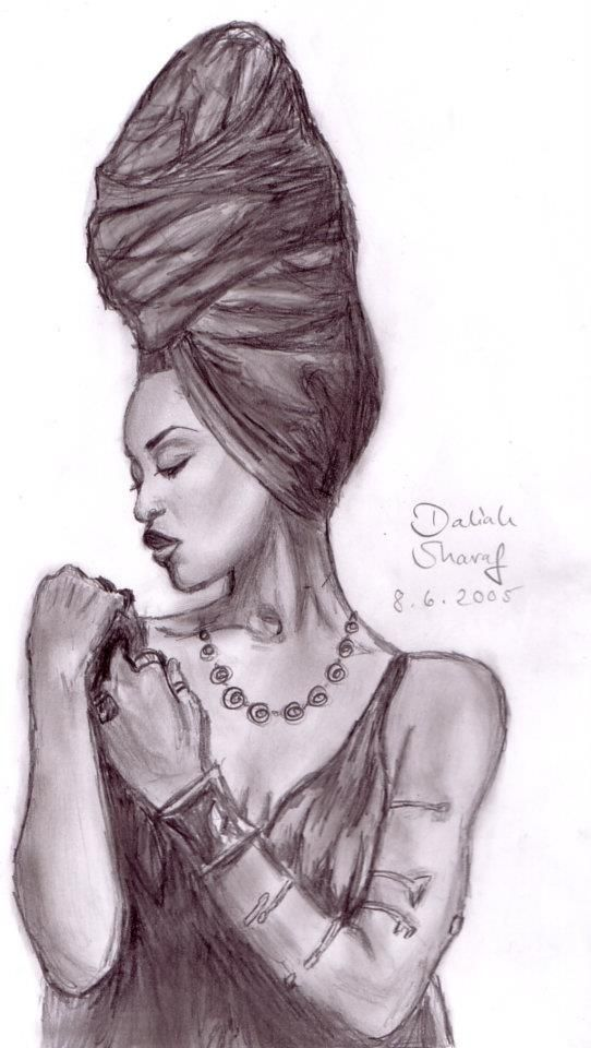 Erykah Badu  Tattoos  Black Women Art, Sexy Black Art -6230