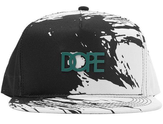 3223d03ca08 Stroke Metal Plate Snapback Cap by DOPE