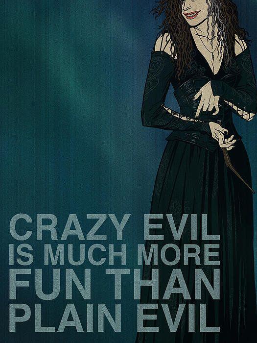 Bellatrix Lestrange Poster By Christopher Ables