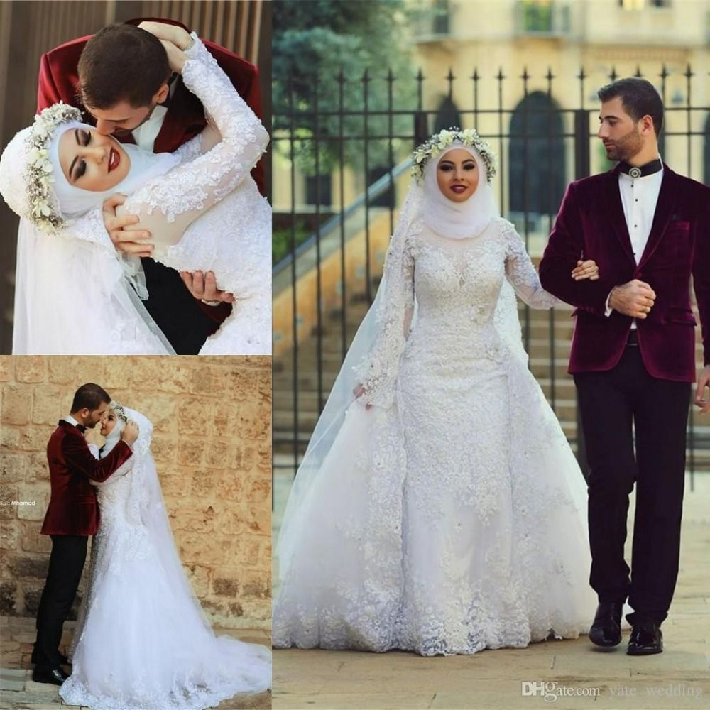 High drama wedding gown 2016 google search gowns galore cheap dress wedding gowns buy quality wedding gowns directly from china muslim wedding suppliers fashion ivory detachable train muslim wedding dresses ombrellifo Image collections