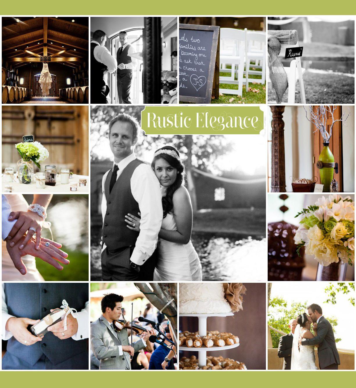 Jenae u shaneus stunning rustic elegance wedding at casa rondena
