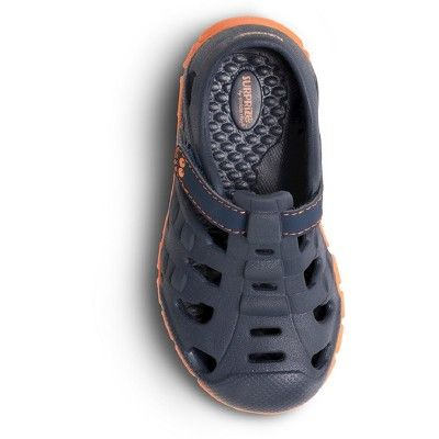 62cf28682 Toddler Boys' Surprize by Stride Rite Demetrius Land & Water Shoes - Navy  10, Toddler Boy's, Blue Orange