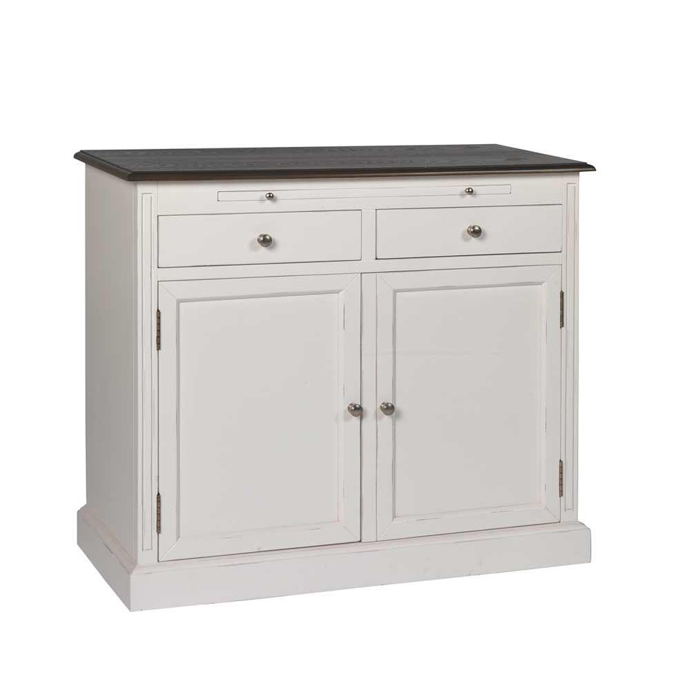 Wunderbar Küchenkommode Weiß Ideen Von Garderoben Kommode In Weiß Grau Jetzt Bestellen