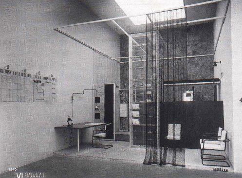 Arredamento Postmoderno ~ Franco albini.stanza per un uomo per la vi triennale di milano