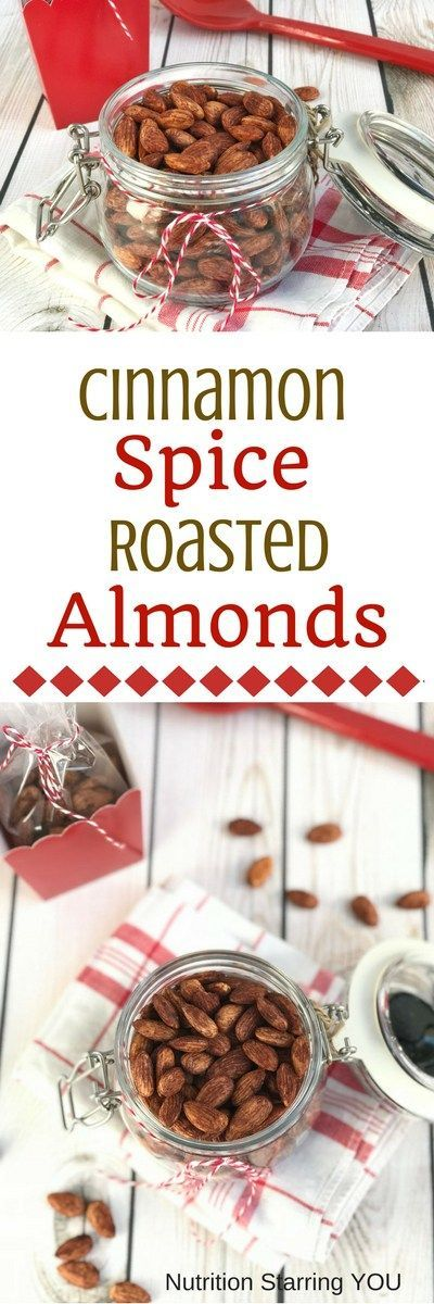 Cinnamon Spice Roasted Almonds