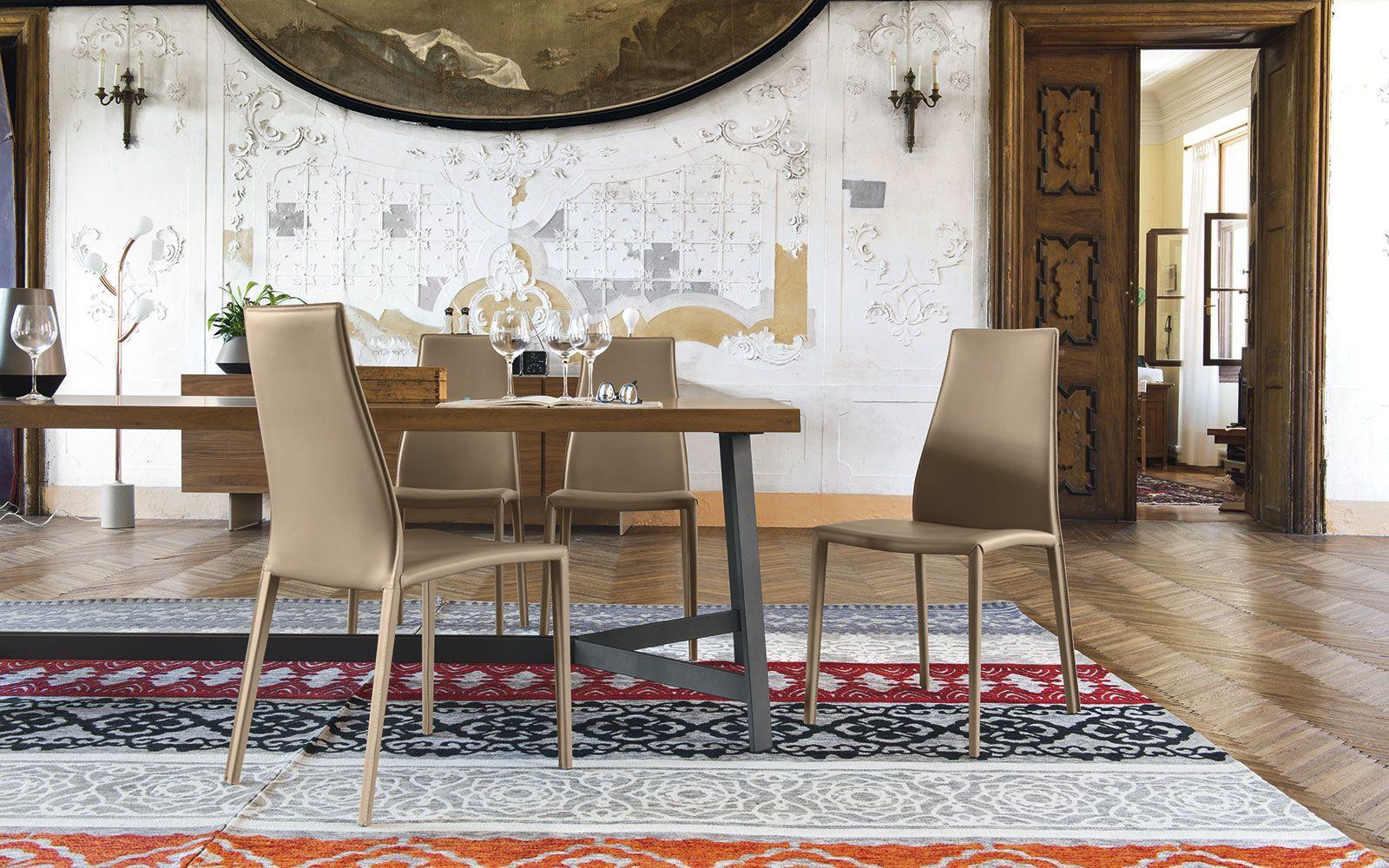 Sedie Sala Da Pranzo Calligaris : Sedia aida plus di calligaris sedie moderne sedie