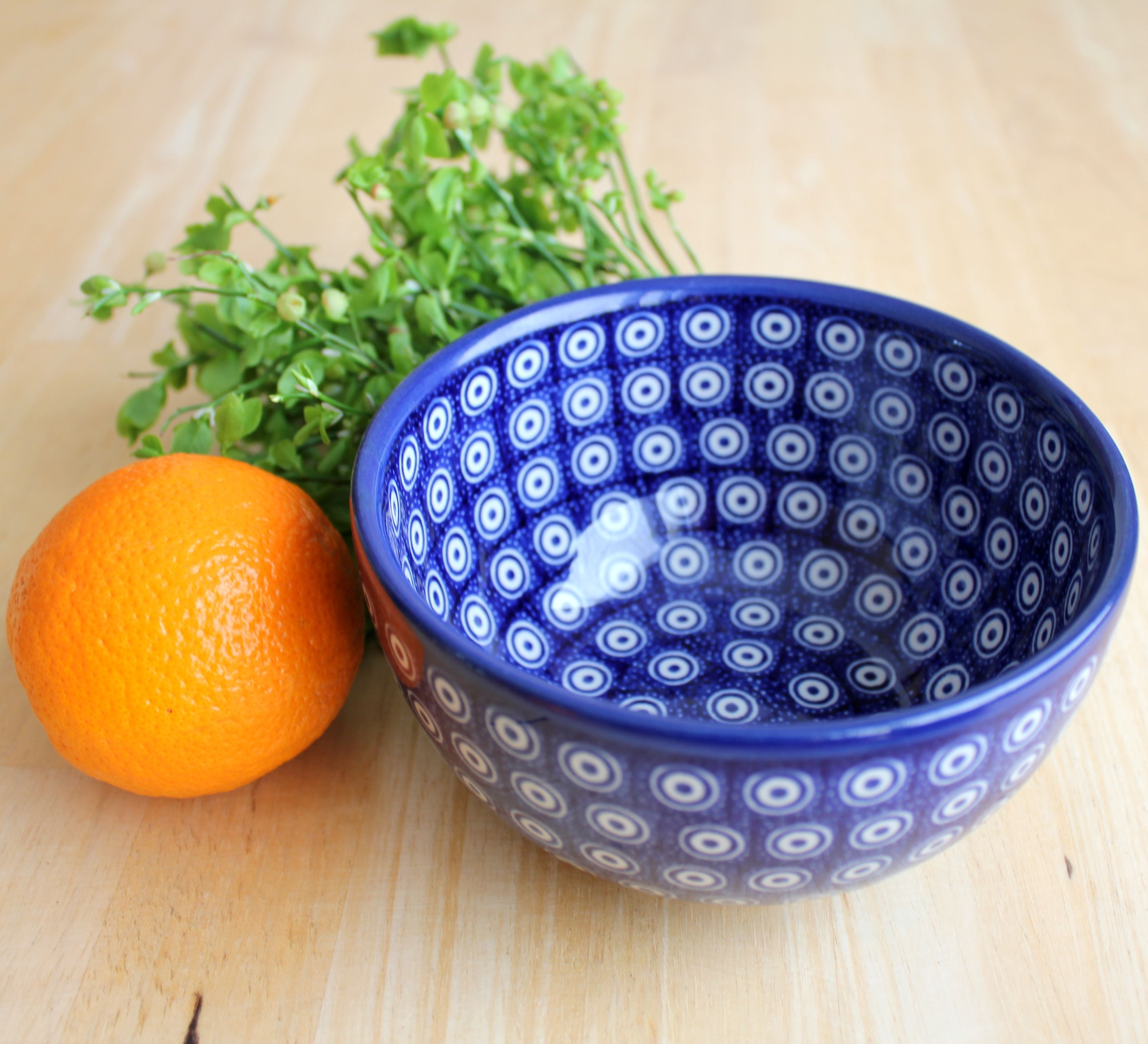 Polish pottery bowl of this shape is a must-have :)