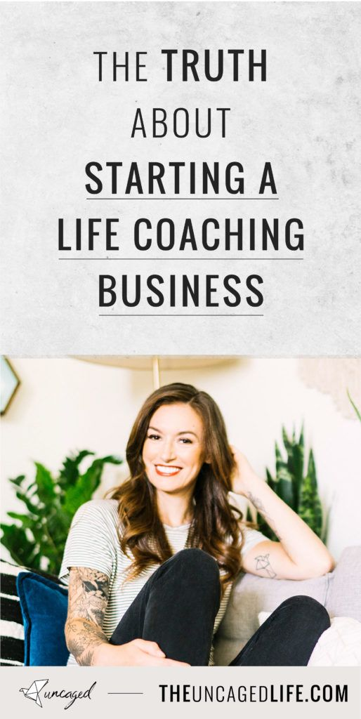 What they don't tell you about starting a life coaching business #lifecoachingtools